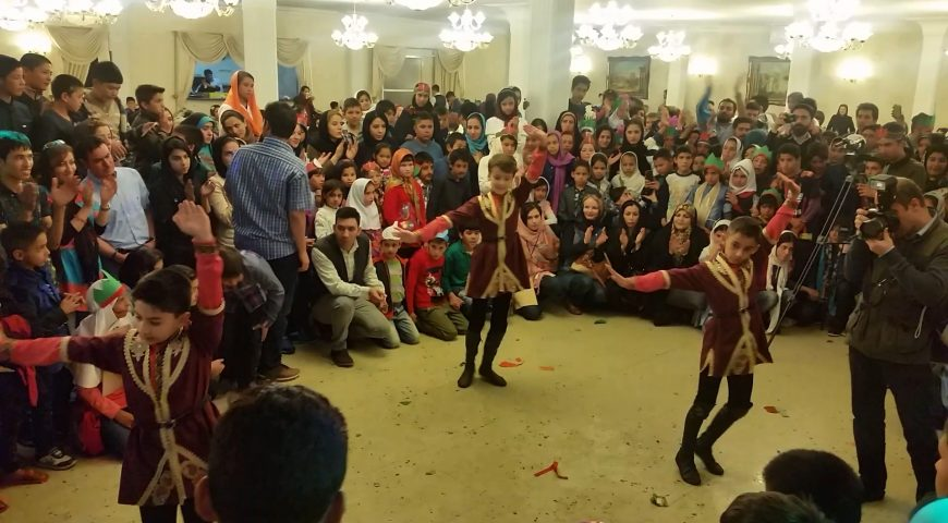 Nowrooz Ceremony with the theme of child labor, Tehran