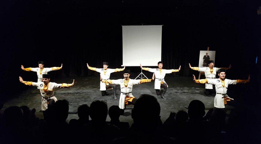 The opening Ceremony of Nofel Loshato Theater