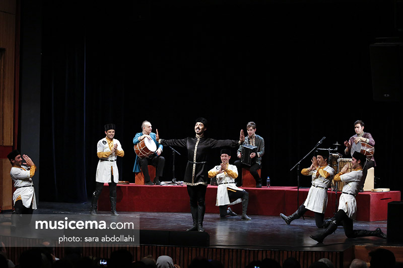 Azerbaijani Dance & Music Concert in Niavaran Cultural Complex