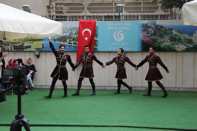 سالروز افتتاح مرکز فرهنگی یونس امره ترکیه در تهران فروردین 92