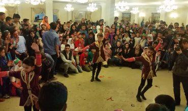 جشن نوروز کودکان کار در پاسداران تهران – 29 اسفند 94