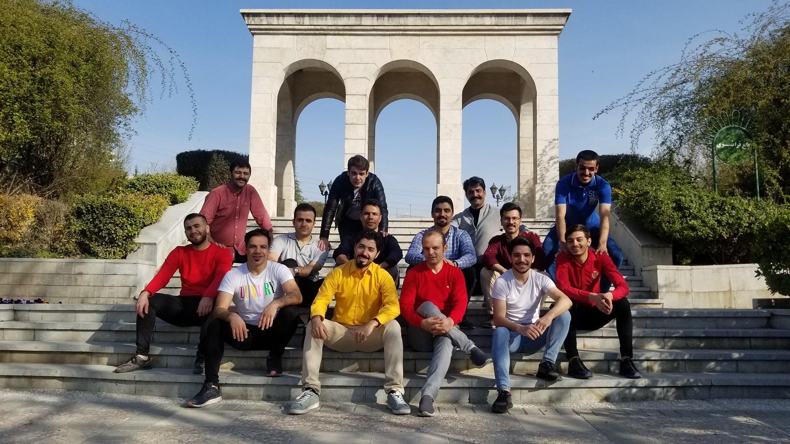 اردوکلیپ پارک گفتگو تهران