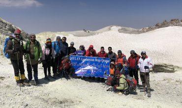 اردو کلیپ قله دماوند