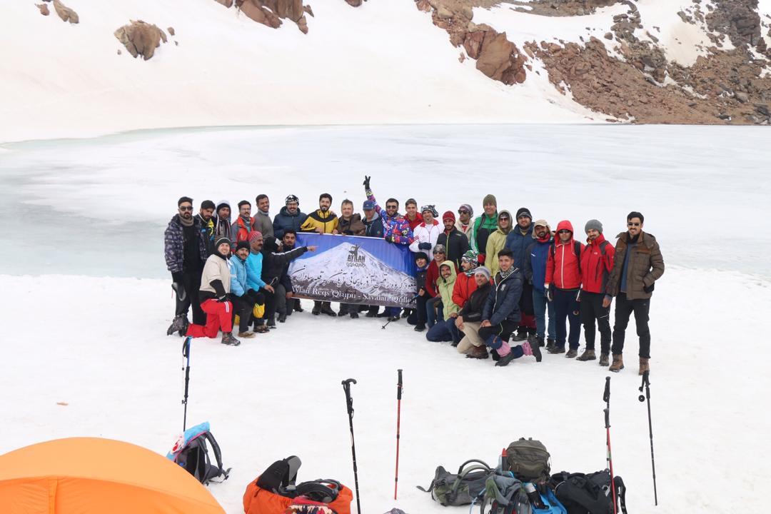 اردوکلیپ قله سبلان