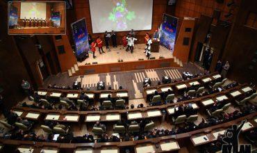 جشن اقوام در سالن همایش پارک پردیسان بمناسبت میلاد پیامبر اسلام – 28 آذر 95