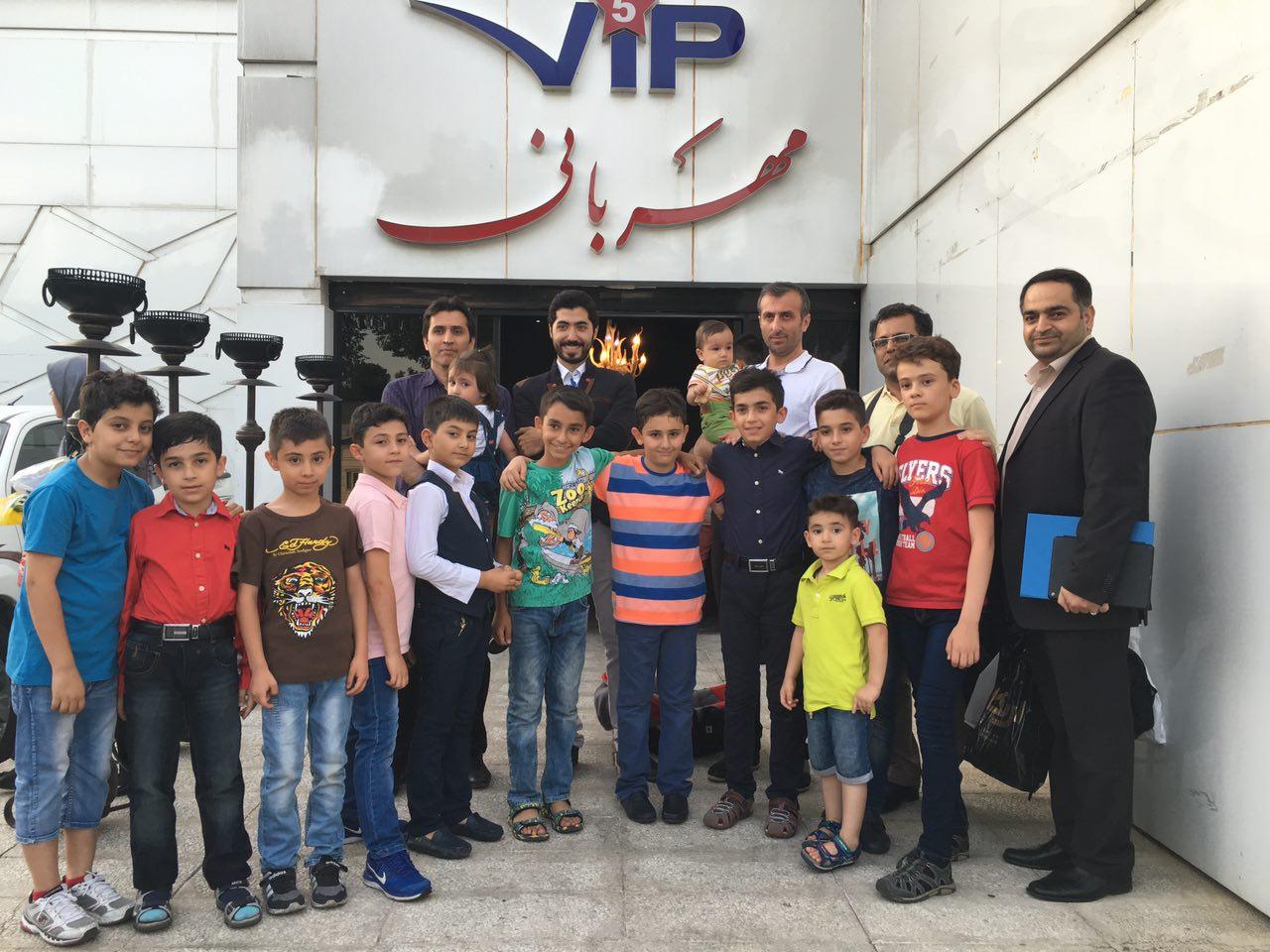 جشن خیریه بیماران ام اس در تالار مهربانی باشگاه انقلاب تهران – 1 تیر 95