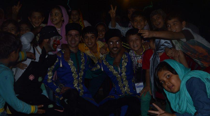 جشن کودکان شاد برای کودکان کار در فشم – 17 تیر 95