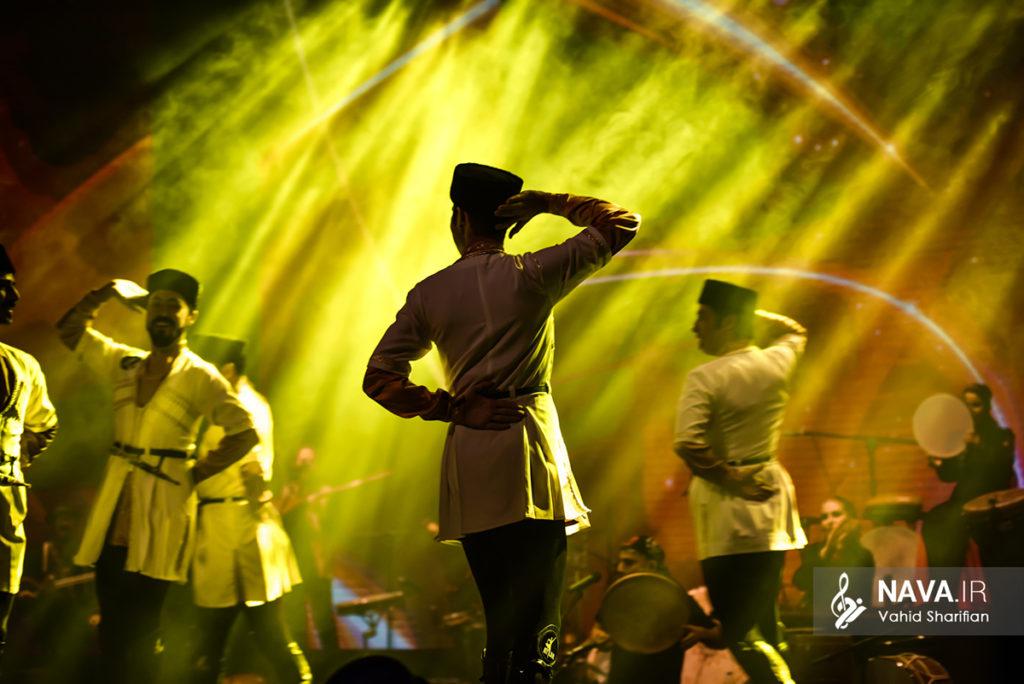 کنسرت موسیقی و رقص گروه رستاک و آیلان در سالن همایش برج میلاد – 28 تیر 97