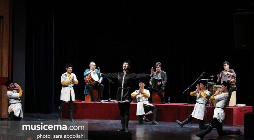 کنسرت رقص و موسیقی آذربایجانی در فرهنگسرای نیاوران – 13 تیر 96