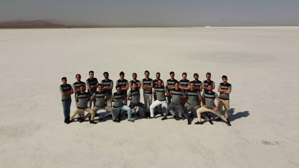 اردو کلیپ دریاچه نمک قم