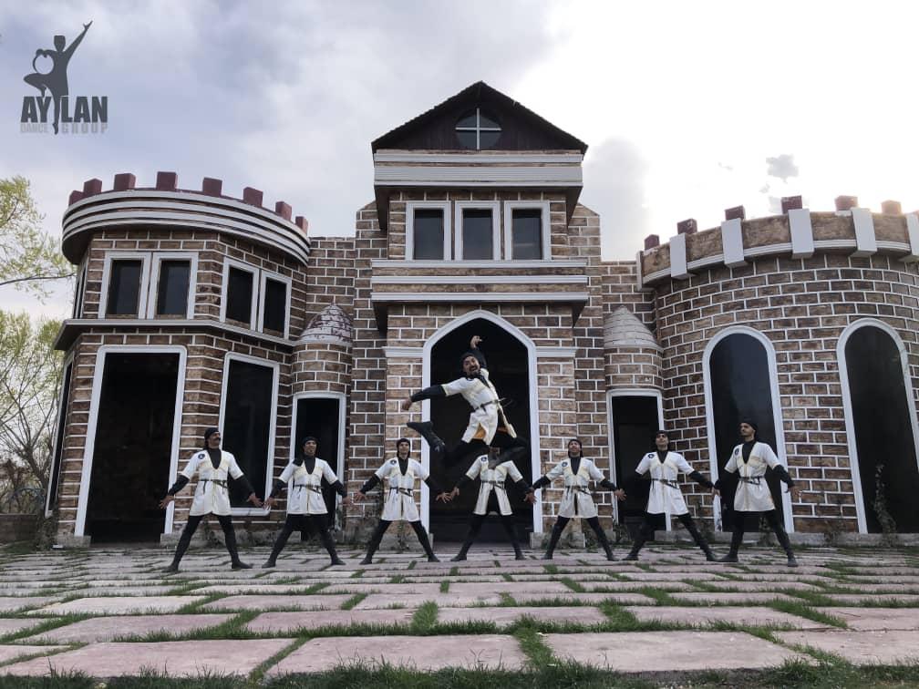رقص آذربایجانی جنگی